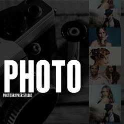Facebook HTML CMS Vorlage für Fotostudio