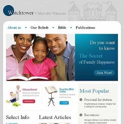 Facebook HTML CMS Vorlage für Zeugen Jehovas