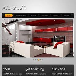 Facebook HTML CMS Vorlage für Wohnungsmodernisierung