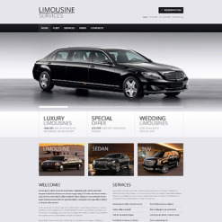 Limousine Services Responsive WordPress Theme