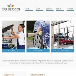 Facebook HTML CMS Vorlage für Autowäsche