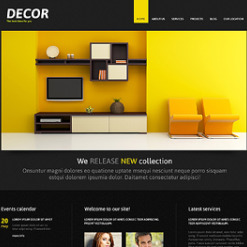 Home Decor Responsive Joomla Template