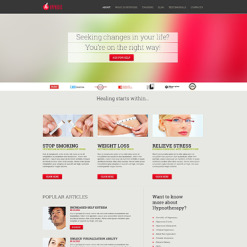 Psychologist Responsive WordPress Theme