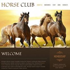 Horse Facebook HTML CMS Template