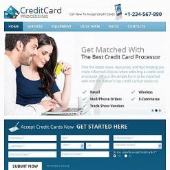 Facebook HTML CMS Vorlage für Bank