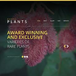 Website Vorlage für Landschaftsgestaltung