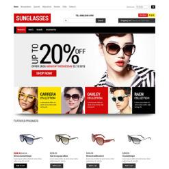 ZenCart Vorlage für Brillen