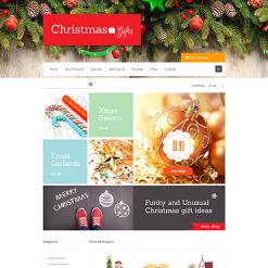 ZenCart Vorlage für Weihnachts