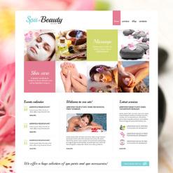Beauty Salon Responsive Joomla Template