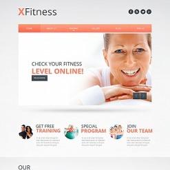 Moto CMS HTML Vorlage für Fitness