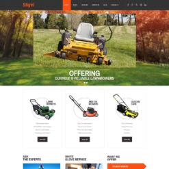 Responsives WordPress Theme für Landschaftsgestaltung
