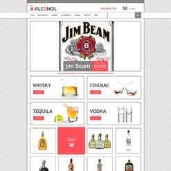 ZenCart Vorlage für Essen und Trinken