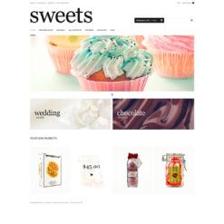 ZenCart Vorlage für Süßwarengeschäft