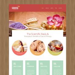 Sauna Responsive Joomla Template