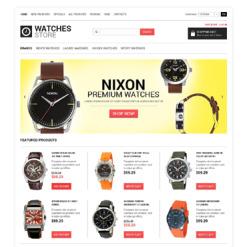 ZenCart Vorlage für Uhren