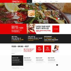 Mexican Restaurant Responsive WordPress Theme