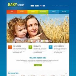 Flash CMS Vorlage für Babysitter
