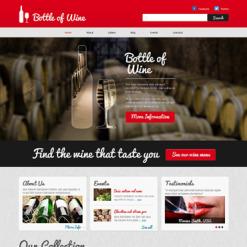 Wine Responsive Joomla Template