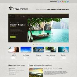 Moto CMS HTML Vorlage für Reiseführer