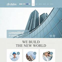 Flash CMS Vorlage für Baufirma