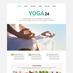 Yoga Responsive Joomla Template