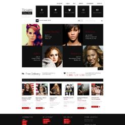 Responsives Shopify Theme für Eintrittskarten Website