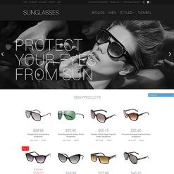 Eye Glasses Responsive Magento Theme