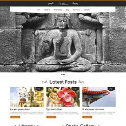 Buddhist Responsive WordPress Theme