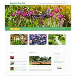 PSD Vorlage für Gartendesign