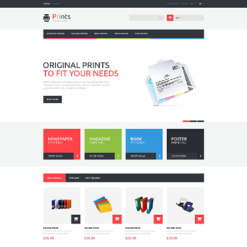 Print Shop Responsive PrestaShop Theme