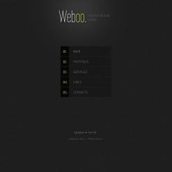Moto CMS HTML Vorlage für Designstudio