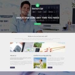 Internet Cafe Responsive WordPress Theme