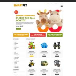 VirtueMart Vorlage für Spielzeuggeschäft