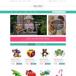 PSD Vorlage für Spielzeuggeschäft