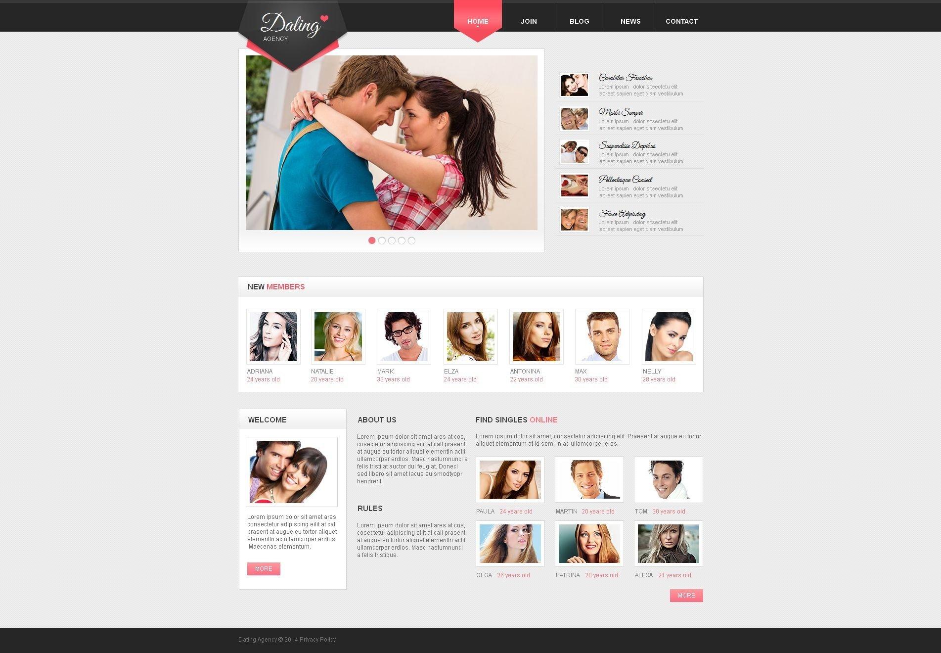 nur Singles Dating-Website