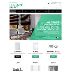 VirtueMart Vorlage für Fensterdekoration Homepage