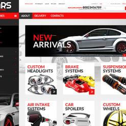 PSD Vorlage für Autoteile
