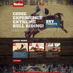 Horse Racing Responsive WordPress Theme