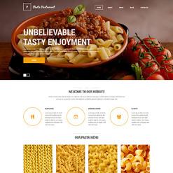 Drupal Vorlage für Italienisches Restaurant