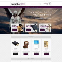 VirtueMart Vorlage für Katholische Kirche