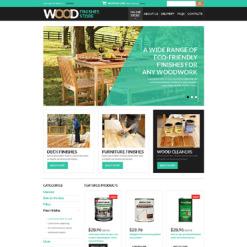 VirtueMart Vorlage für Innenausstattung und Möbel