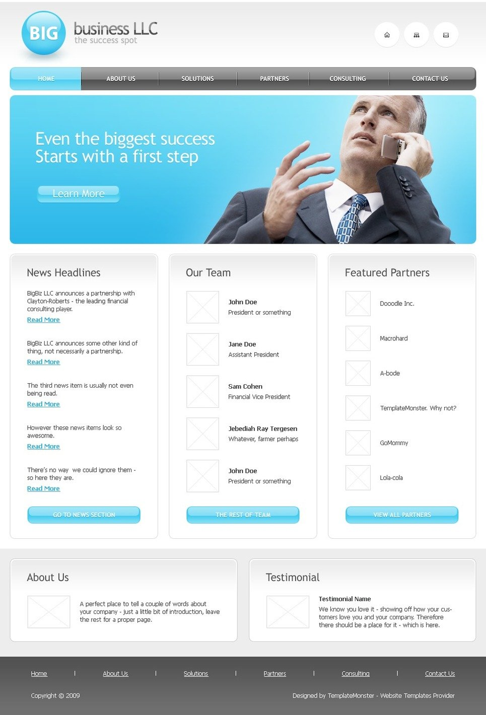 Simple business css templates free website templates mandegarfo simple business css templates free website templates wajeb Image collections