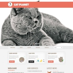 Cat WordPress Theme