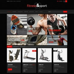 Responsives PrestaShop Theme für Fitness