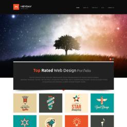Designer Portfolio Responsive WordPress Theme