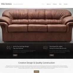Moto CMS HTML Vorlage für Möbel