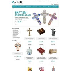 ZenCart Vorlage für Katholische Kirche