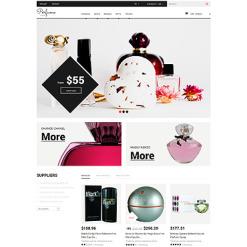 Responsives PrestaShop Theme für Kosmetik-Geschäft