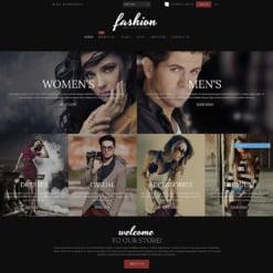 Responsives Shopify Theme für Mode-Shop
