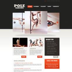Dance Studio Responsive WordPress Theme